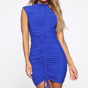 Fashion Nova Royal BlueDress